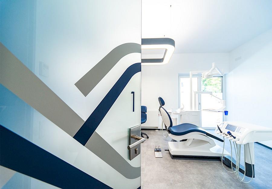 Moderne Behandlungsräume bei novacura in Münster