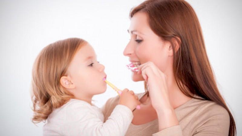 Zaehneputzen bei Kindern