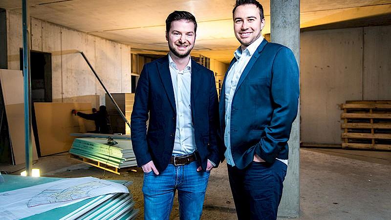 Gründer und Inhaber von novacura: Dr. Evangelos Moutaftsis und Miroslav Gleiche-Yonchev